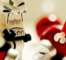 Santa's little troopers Sticker