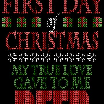 Beer Christmas Sweater by johnmarinville