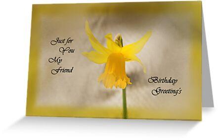 Daffodil Card by Forfarlass