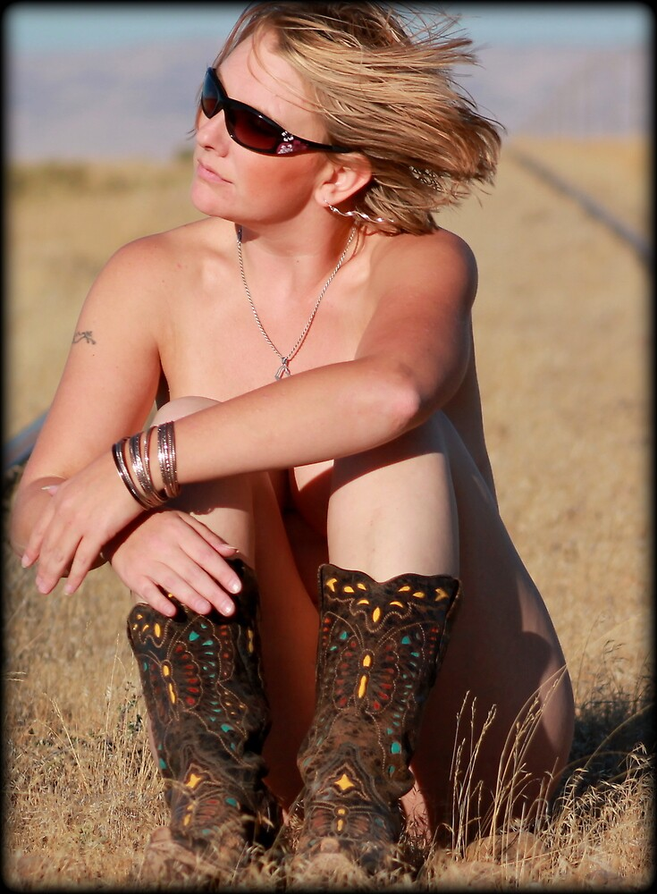 All she needs is boots by Jessie Miller/Lehto