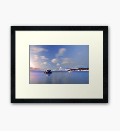 Pearl Farm  Framed Print