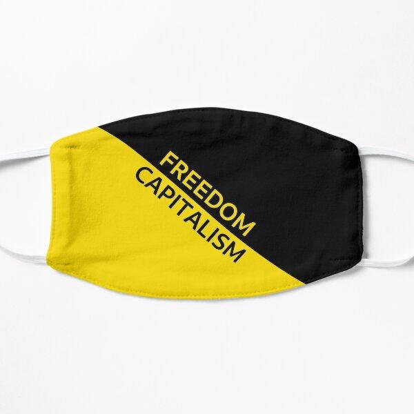 Anarcho-Capitalism Flag - Capitalism is Freedom Flat Mask