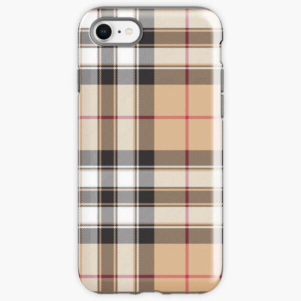 Pride of scotland gold tartan fabric texture iPhone Tough Case