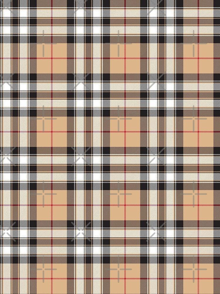 Pride of scotland gold tartan fabric texture by trendtis
