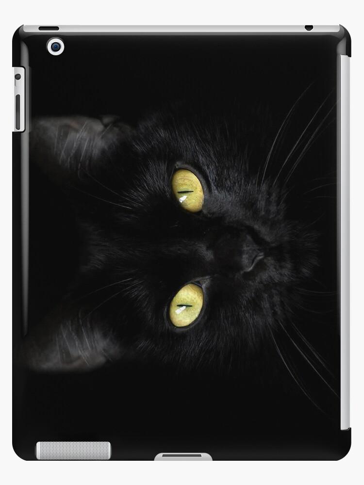Black on Black iPad Case by Wojciech Dabrowski