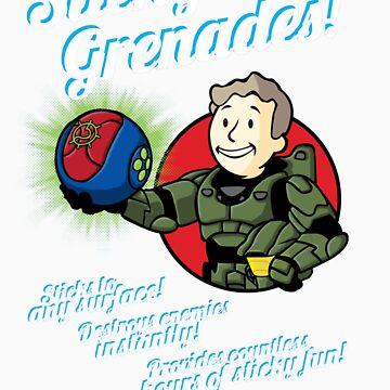 Sticky Grenades! by D4N13L