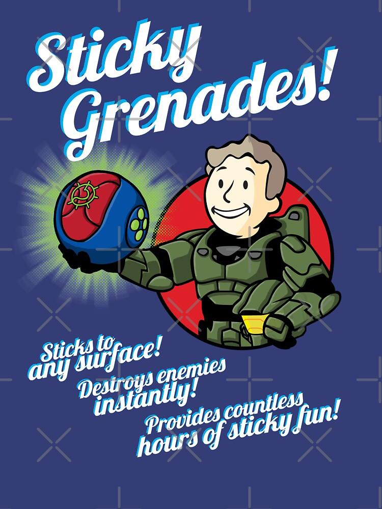 Sticky Grenades! | Unisex T-Shirt