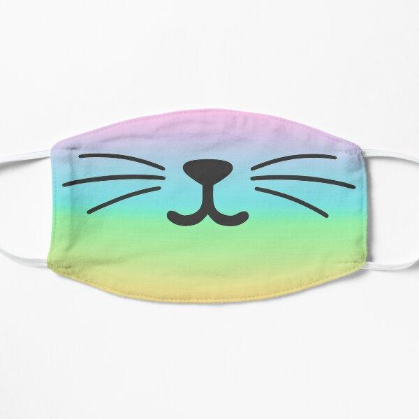 Tie Dye Cat Smile Mask