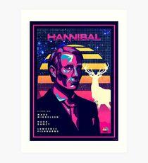 Hannibal 80's Poster Art Print