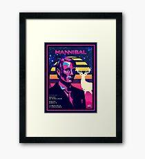 Hannibal 80's Poster Framed Print