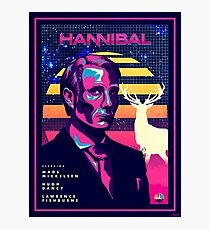 Hannibal 80's Poster Photographic Print