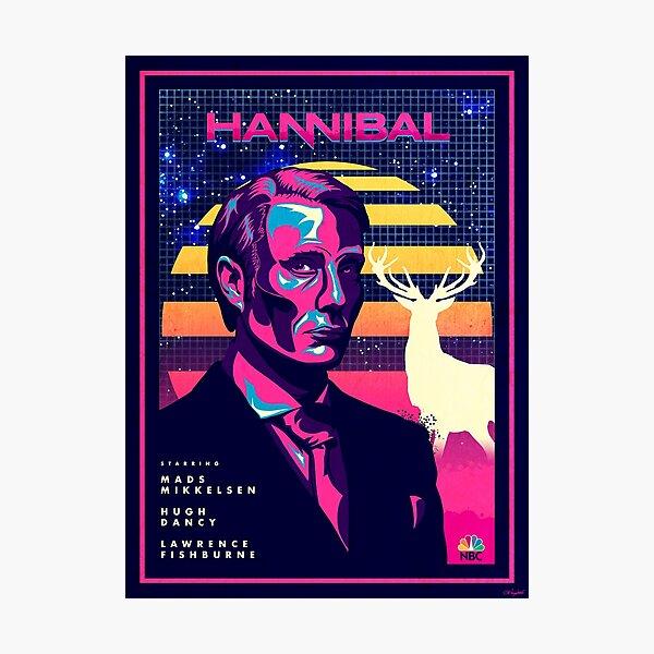 Hannibal 80's Poster Photographic Print