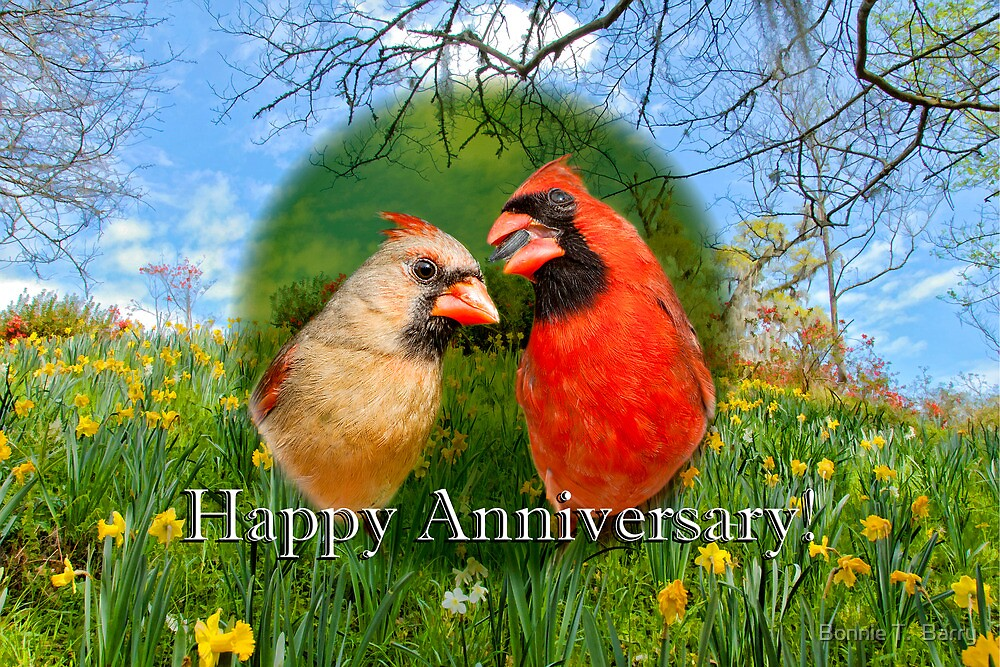 Happy Anniversary! by Bonnie T.  Barry