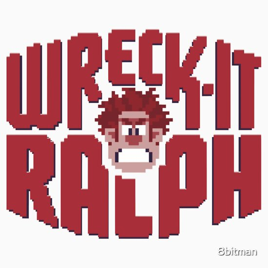 TShirtGifter presents: Wreck-It Ralph | Unisex T-Shirt