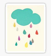 Sunshine and Showers Sticker