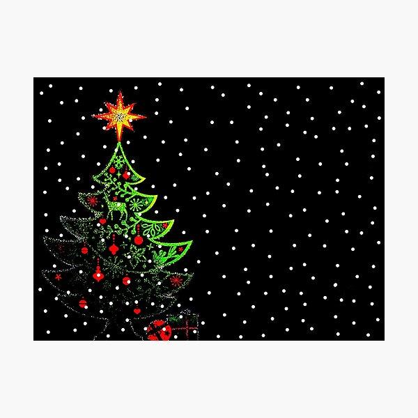 O Christmas Tree Photographic Print