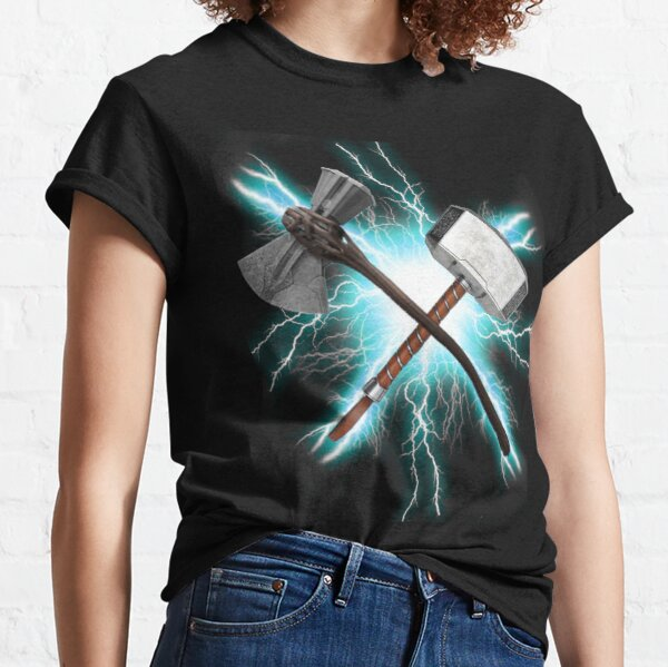 Stormbreaker and Mjolnir Thor Classic T-Shirt