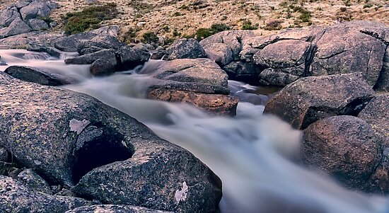 Frosty Creek by Mark  Lucey
