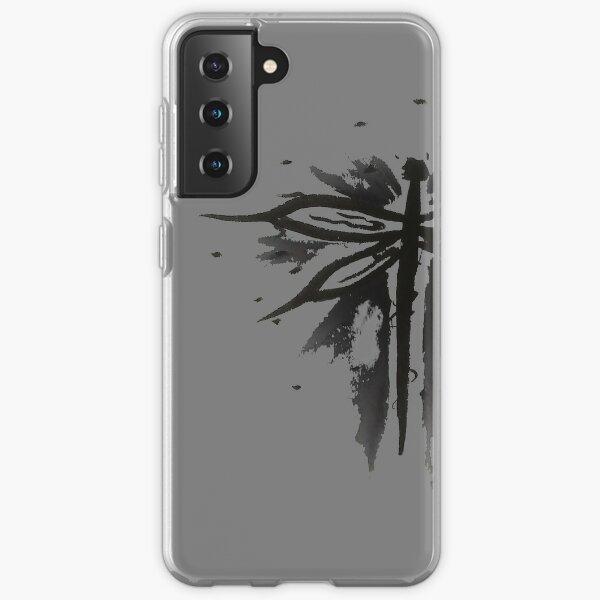 schwarze Libelle Samsung Galaxy Flexible Hülle