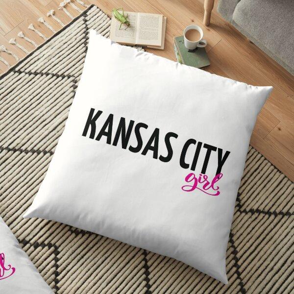 Kansas City Girl Floor Pillow
