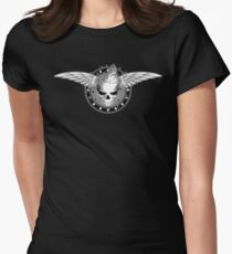 Party Skull v1.0 Women's Fitted T-Shirt