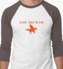 Camp Half-Blood - Orange Logo Men's Baseball ¾ T-Shirt
