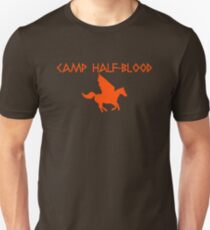Camp Half-Blood - Orange Logo Unisex T-Shirt