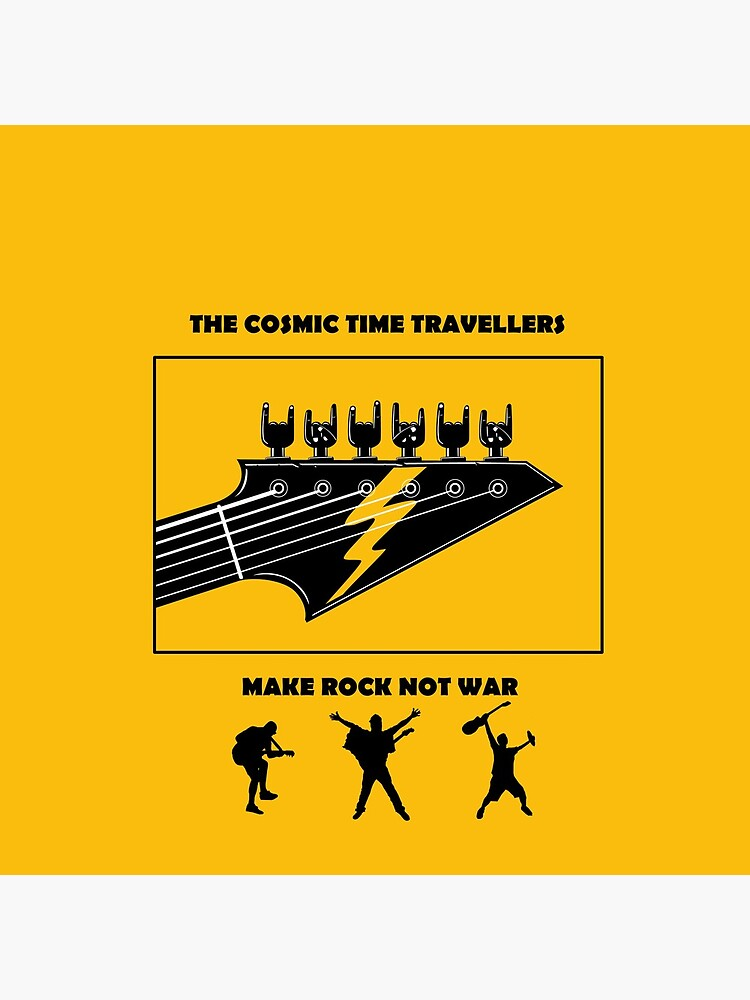 Make Rock Not War by TheCosmics