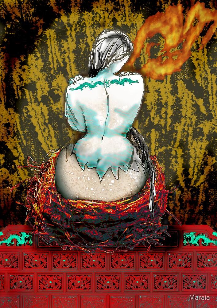 The Birth of the Jade Dragon by Maraia