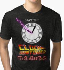 Save The Clock Tower Tri-blend T-Shirt