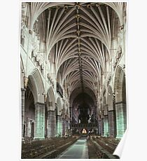 Nave Exeter Cathedral 19810114 0004 Poster