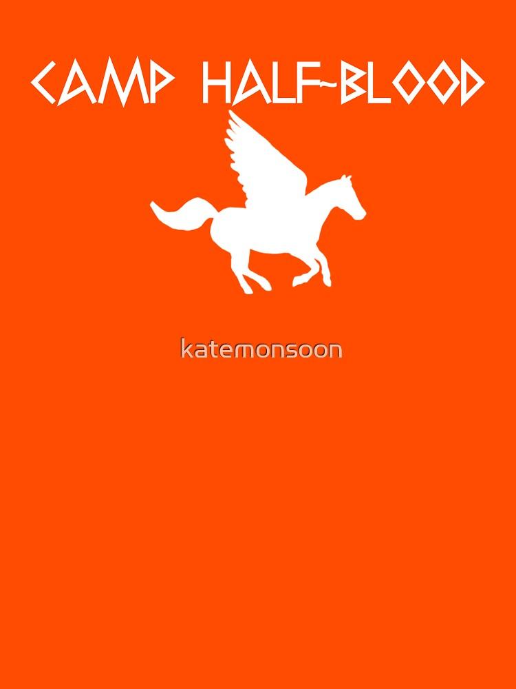 Camp Half-Blood - White Logo | Women's T-Shirt