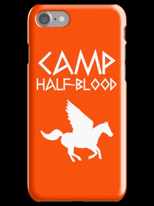 Camp Half-Blood - White Logo by katemonsoon