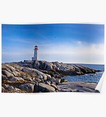 Peggy's Cove Lighthouse, Nova Scotia #2 Poster