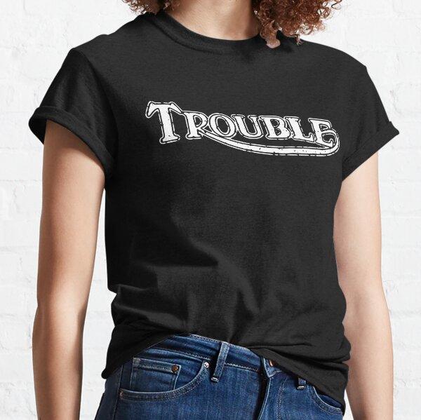 Trouble Triumph Caferacer Vintage British Classic Logo  Classic T-Shirt