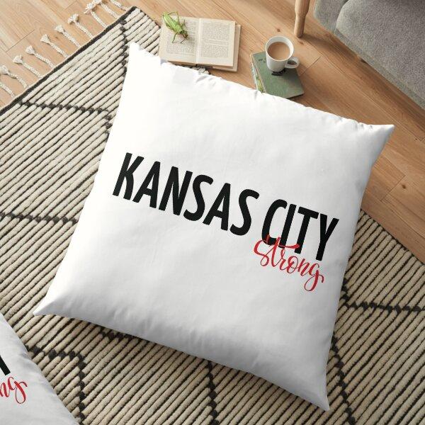 Kansas City Strong Floor Pillow