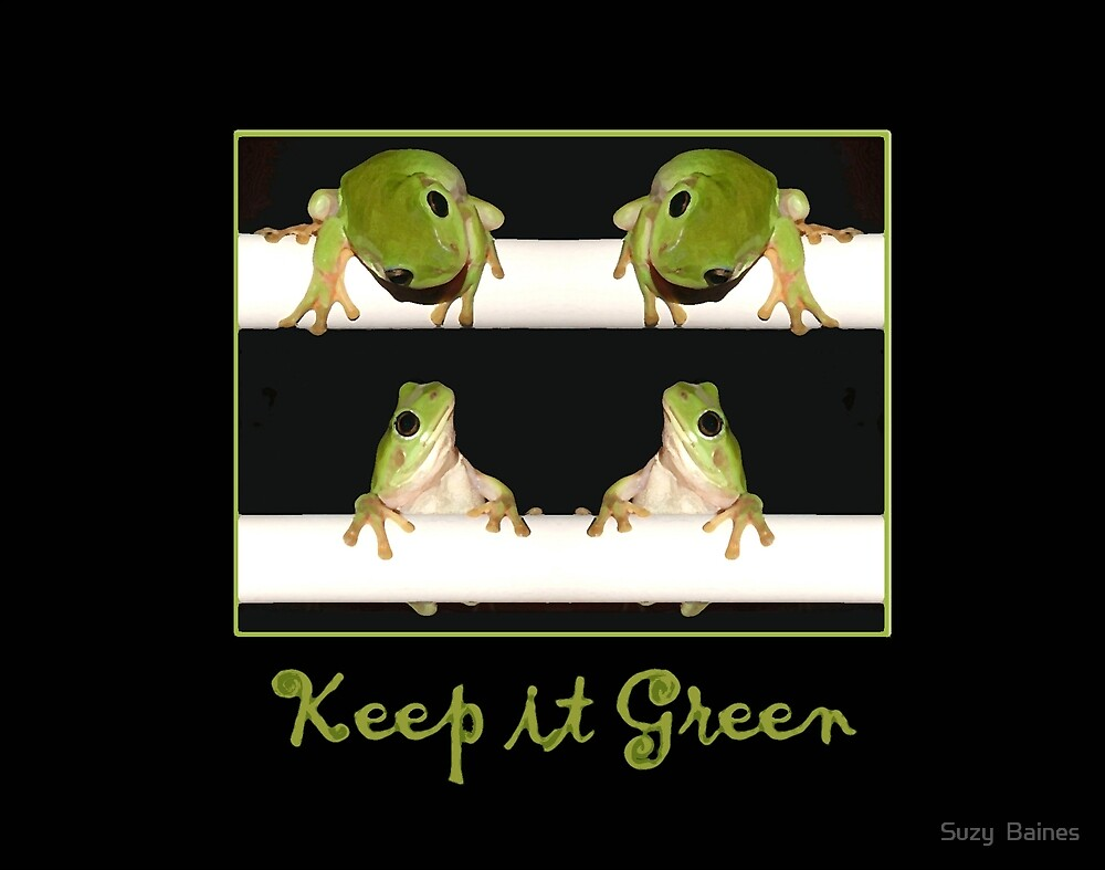 Keep It Green by Suzy  Baines