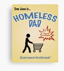 Homeless Dad - Arrested Development Canvas Print