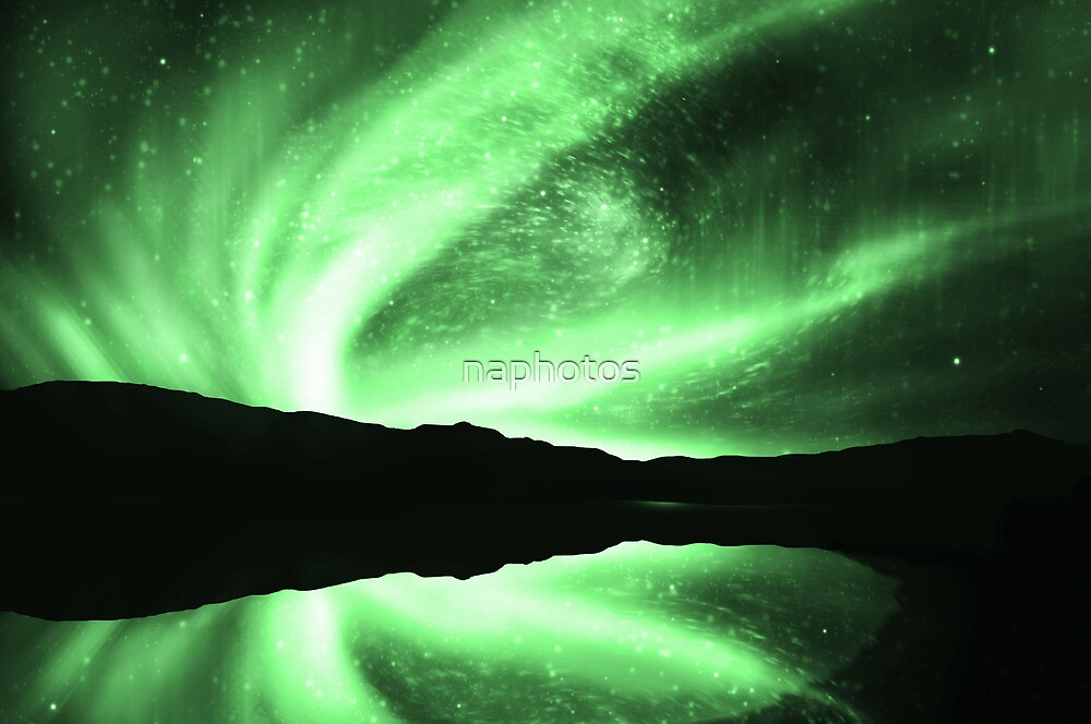 northern lights by naphotos