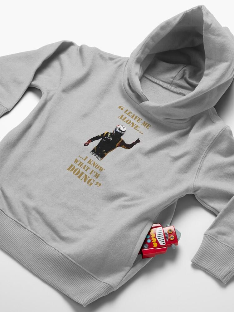 Vista alternativa de Sudadera con capucha para bebé Kimi Raikkonen - Presupuesto