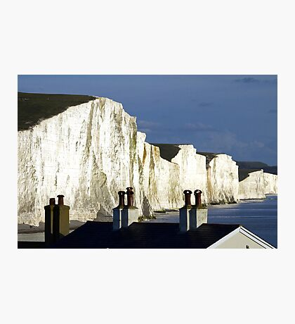 Rooftops & Clifftops Photographic Print