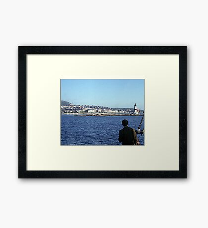 Entering Harbour at St. Pierre and Miquelon Framed Print