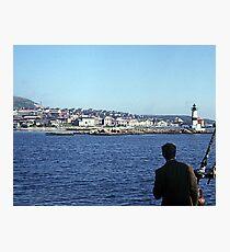 Entering Harbour at St. Pierre and Miquelon Photographic Print
