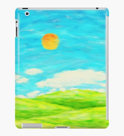 spring and summer iPad Case/Skin