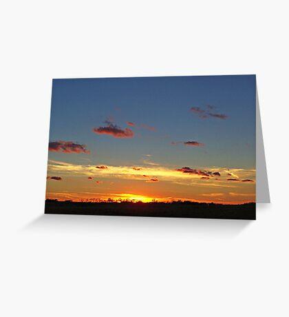 Prairie Starburst Greeting Card