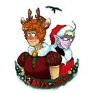 Space School - 12 Days of Spacemas by DarkChibiShadow