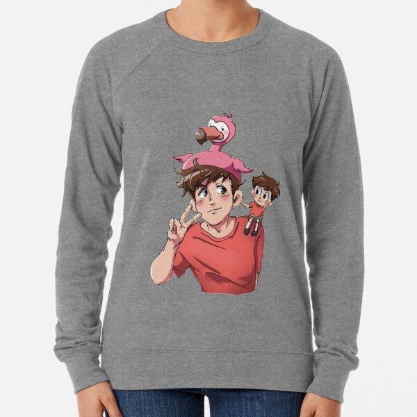 Flamingo Youtuber Lightweight Sweatshirt