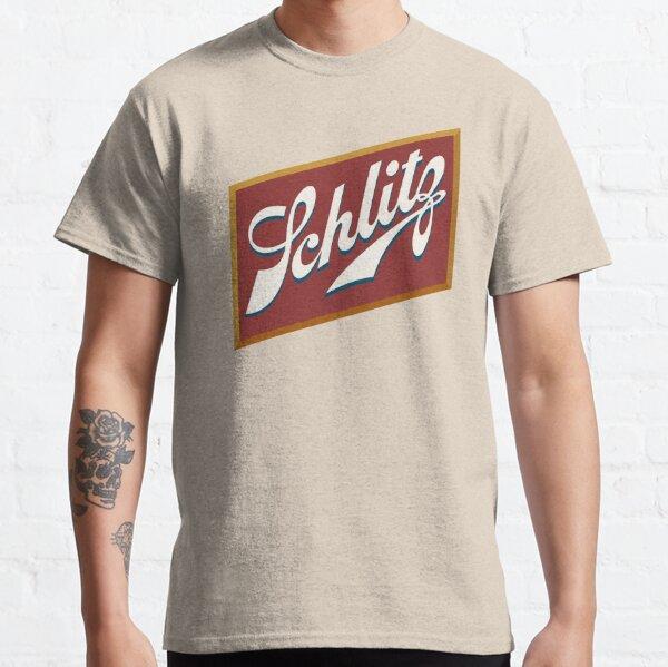 Logo de la bière Schlitz propre T-shirt classique