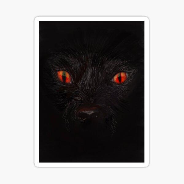 Black Shuck the Demon Dog of East Anglia Sticker