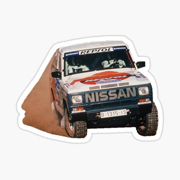 Nissan Patrol MK Dakar Pegatina